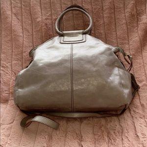 Hobo large gray tote bag